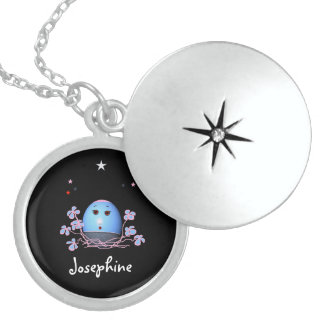 Jewellery for Girls (add name) Round Locket Necklace