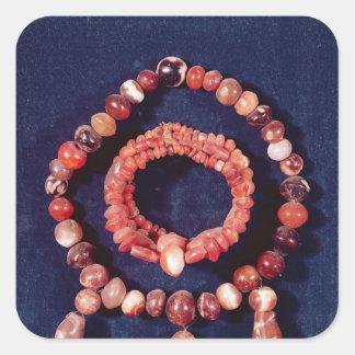 Jewellery from Khorsabad Iraq Stickers