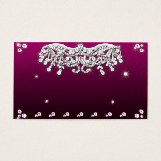 Jewelry crown business card