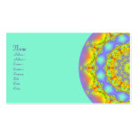 Jewels Fractal Kaleidoscope Pack Of Standard Business Cards