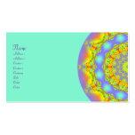 Jewels Fractal Kaleidoscope Pack Of Standard Business Cards