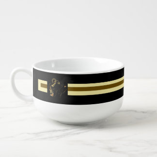 Jewels in Black Soup Mug