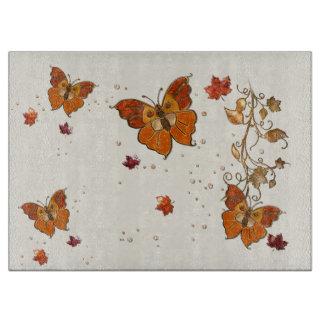 Jewels of Autumn Cutting Board