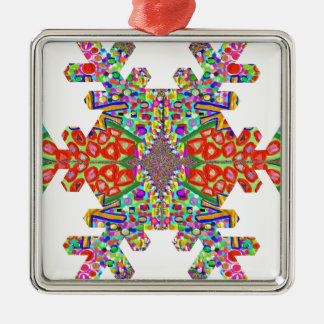 Jewels SnowFlake Shape TEMPLATE Resellers Festival Ornaments