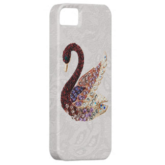 Jewels Swan & Paisley Lace iPhone 5 iPhone 5 Covers