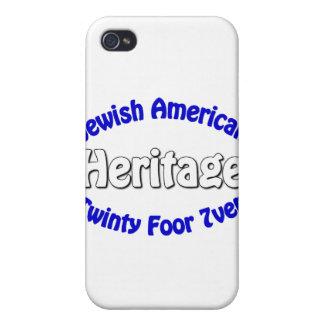 Jewish American Heritage iPhone 4 Covers