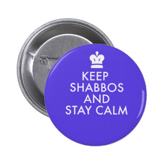 Jewish Button-Keeping Calm-The New Way 6 Cm Round Badge