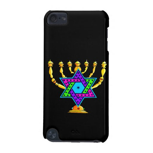 Jewish Candlesticks iPod Touch (5th Generation) Covers