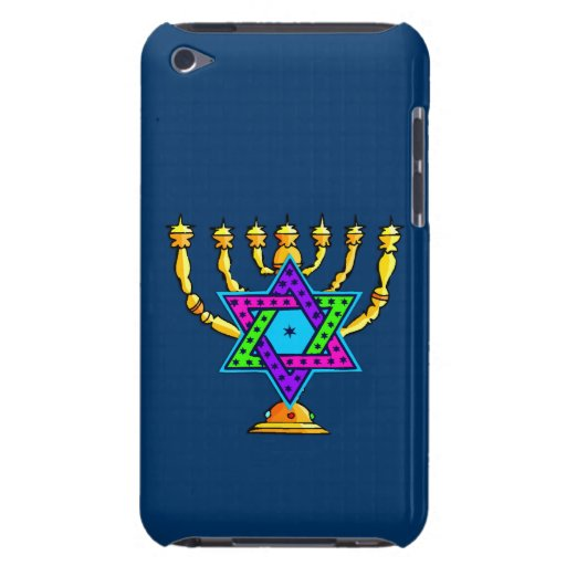 Jewish Candlesticks Barely There iPod Covers