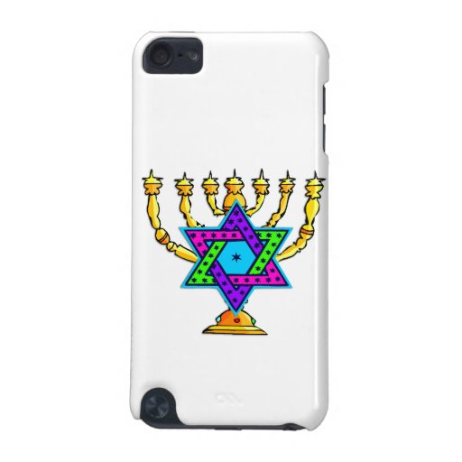 Jewish Candlesticks iPod Touch 5G Cover