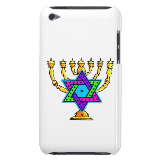 Jewish Candlesticks Case-Mate iPod Touch Case