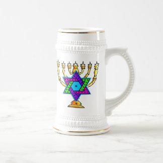Jewish Candlesticks Coffee Mugs