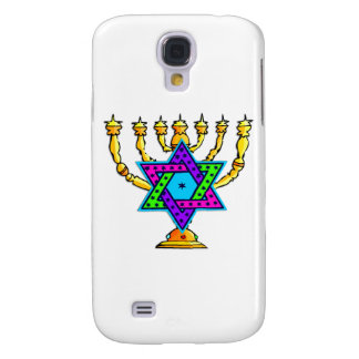 Jewish Candlesticks Galaxy S4 Covers