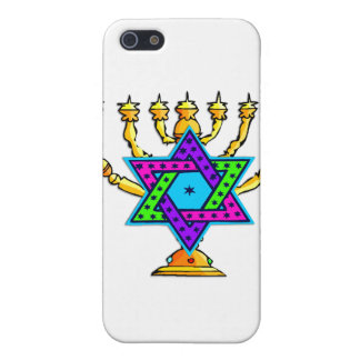 Jewish Candlesticks iPhone 5 Cover