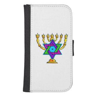 Jewish Candlesticks Phone Wallet