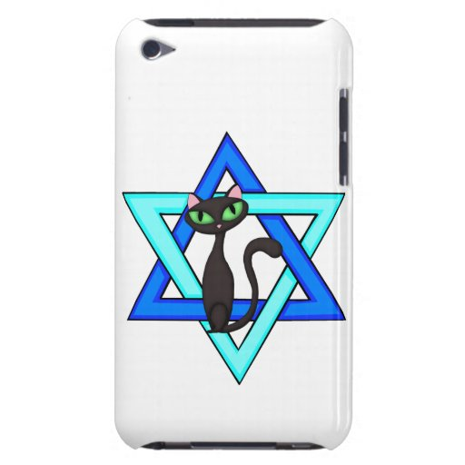 Jewish Cat Stars Barely There iPod Covers