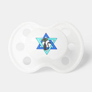 Jewish Cat Stars Pacifier
