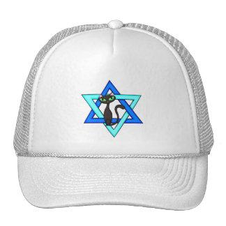 Jewish Cat Stars Hat