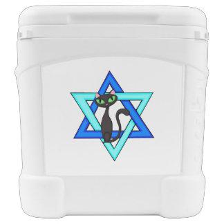 Jewish Cat Stars Roller Cooler