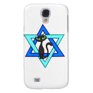 Jewish Cat Stars Samsung Galaxy S4 Cover