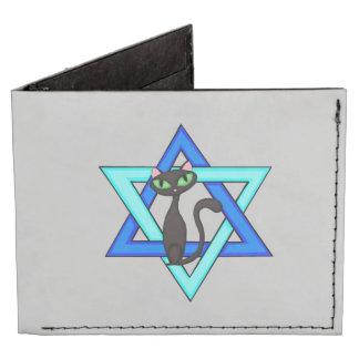 Jewish Cat Stars Tyvek Wallet