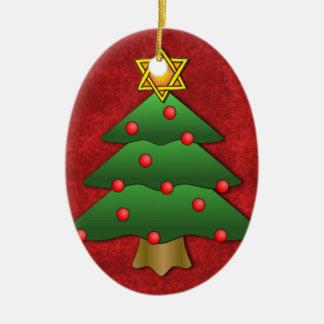 Jewish-Christmas Christmas Ornament