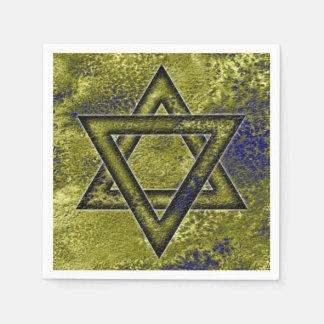 Jewish Decorating Idea, Star of David Disposable Serviette