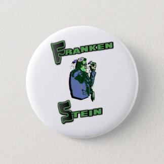 Jewish Franken Stein 6 Cm Round Badge