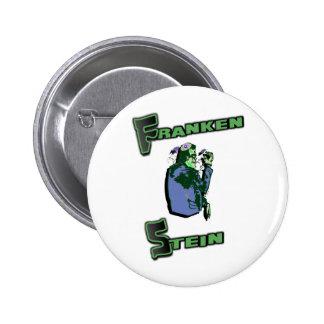 Jewish Franken Stein Pinback Button
