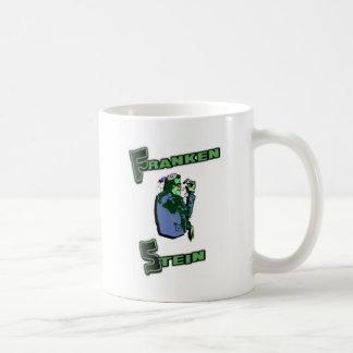 Jewish Franken Stein Basic White Mug