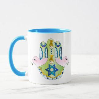 Jewish Hamsa Mug