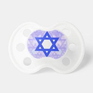 Jewish Heritage,... the Star of David. Pacifier
