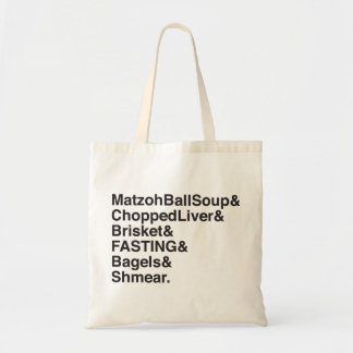 Jewish High Holidays in a Nutshell Budget Tote Bag