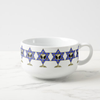 Jewish Holiday Celebrations Soup Mug