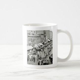 Jewish Market 1890s Coffee Mugs