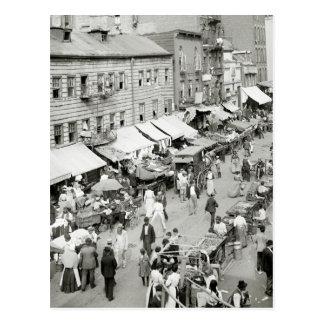 Jewish Market, 1890s Postcard