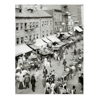 Jewish Market, 1890s Postcards