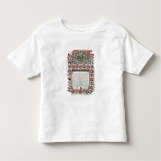 Jewish Marriage Contract (vellum) Toddler T-Shirt