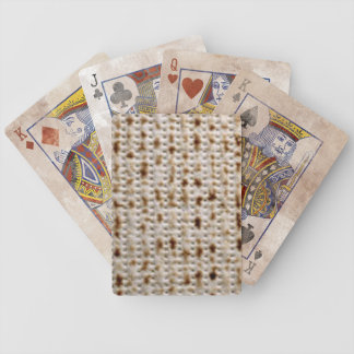 JEWISH MATZO PLAYING CARDS