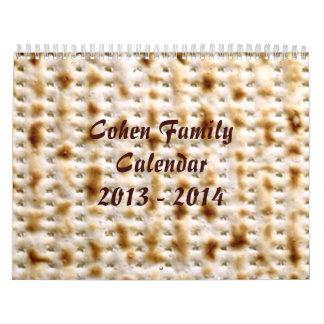 Jewish Matzo Wall Calendar, April 2013-March 2014 Calendar