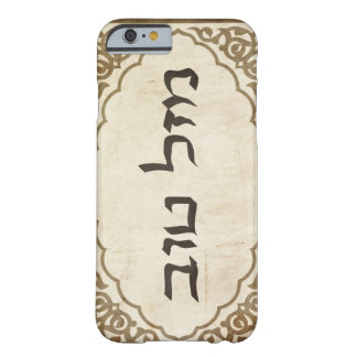 Jewish Mazel Tov Hebrew Good Luck Barely There iPhone 6 Case