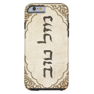 Jewish Mazel Tov Hebrew Good Luck Tough iPhone 6 Case