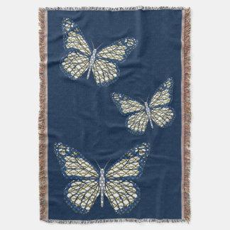 Jewish Monarch Throw Blanket