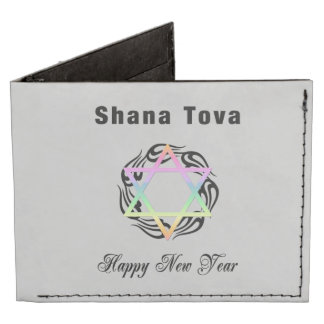 Jewish New Year Billfold Wallet