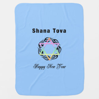 Jewish New Year Buggy Blanket