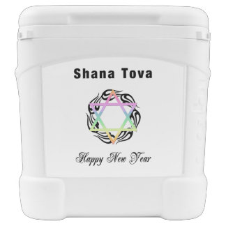 Jewish New Year Rolling Cooler