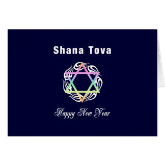 Jewish New Year Shana Tova Card