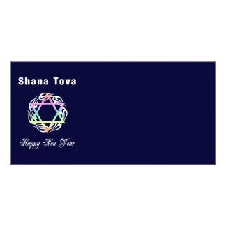 Jewish New Year Shana Tova Customized Photo Card