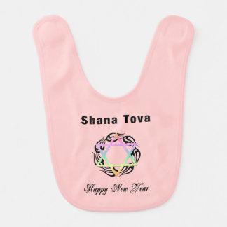 Jewish New Year Baby Bibs
