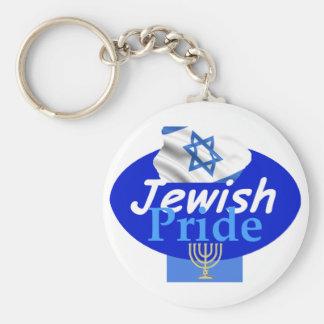JEWISH PRIDE Keychain